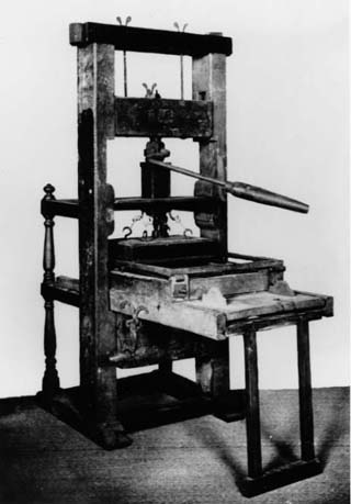 a history of the printing press Watch a short video about johannes gutenberg and the invention of the printing press.
