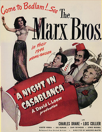 Marx Brothers: A Night In Casablanca (1946) Casablancaclr